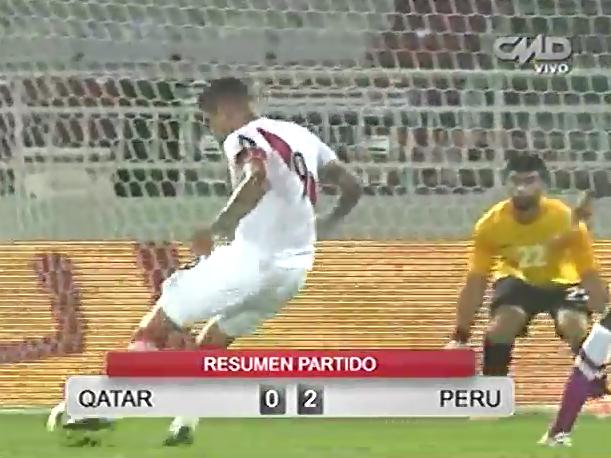Catar vs. Perú Los goles del partido (VIDEO)