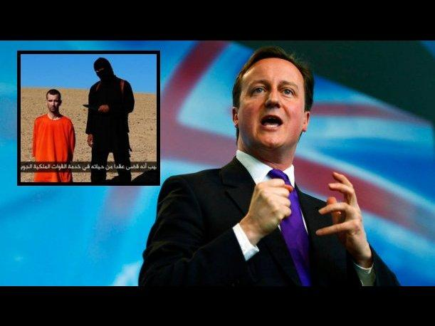 David Cameron lanza advertencia a los asesinos de David Haines