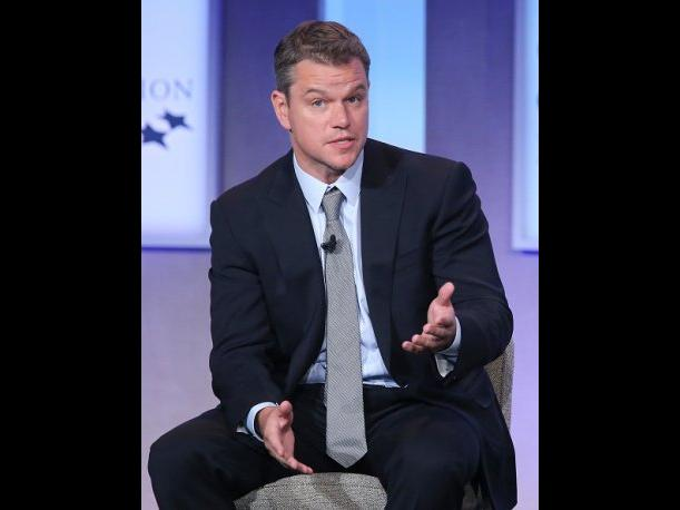 Matt Damon sigue consternado por la muerte de Robin Williams