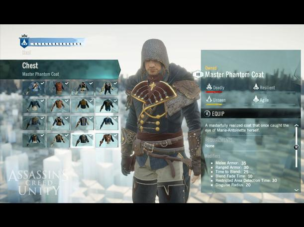 Assassins Creed Unity presenta modo de personalización (VIDEO)