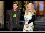Jim Carrey hizo de las suyas en Saturday Night Live