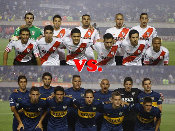 River Plate vs. Boca Juniors Por el pasaje para la final