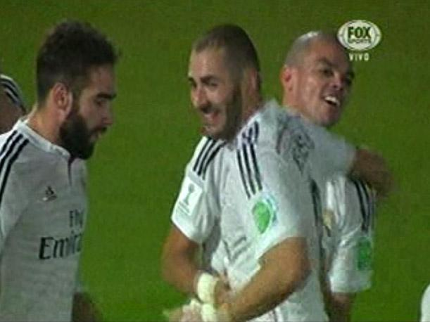Cruz Azul 0-2 Real Madrid Gol de Karim Benzema (VIDEO)