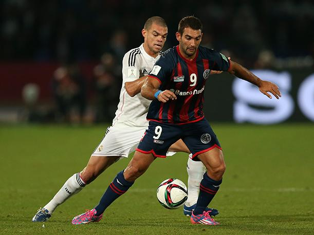 Real Madrid vs. San Lorenzo El lateral de Pepe (VIDEO)
