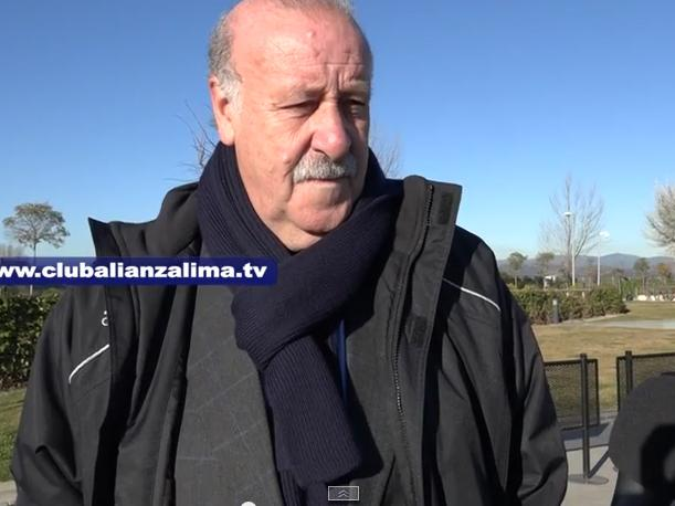 Vicente del Bosque se rinde ante Alianza Lima (VIDEO)