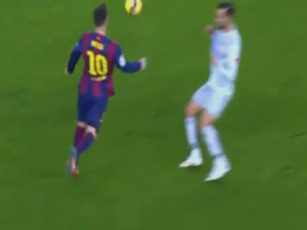 Barcelona vs. Atlético de Madrid ¿Fue mano de Messi? (VIDEO)