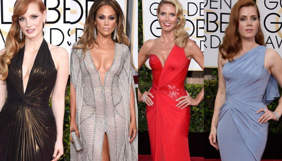 Los looks más impactantes de los Golden Globes. (Foto: Getty Images)