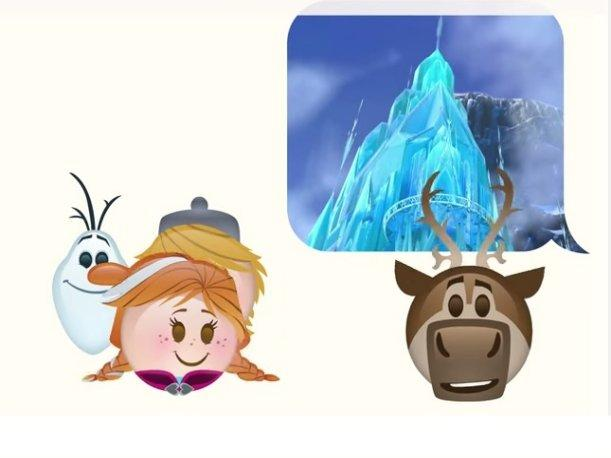 Frozen Película animada es recreada en emoticones (VIDEO)