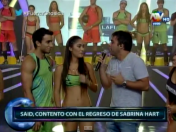 Combate: Sabrina Hart estaría saliendo con Said Palao (VIDEO)