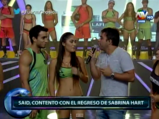 Combate Sabrina Hart estaría saliendo con Said Palao (VIDEO)