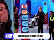 YouTube: Modelo se disculpó tras regalar por error un carro en TV
