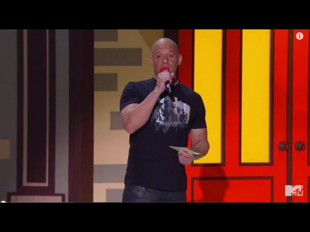 MTV Movie Awards Vin Diesel le dedicó tema a Paul Walker (VIDEO)