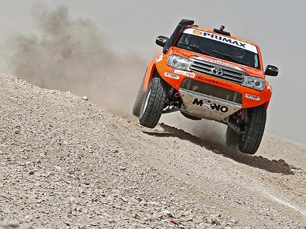 Raúl Orlandini es top 3 del Sealine Cross Country Rally 2015