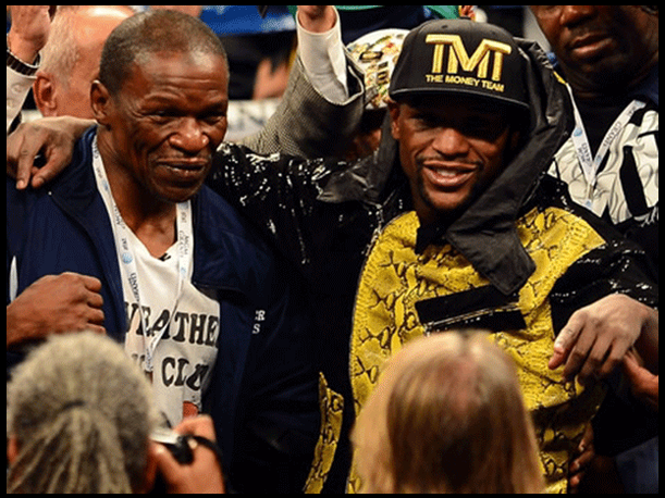 Floyd Mayweather Padre le dedica poema a Manny Pacquiao (VIDEO)