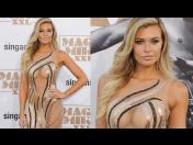 Magic Mike XXL: Samantha Hoopes y su vestido semi transparente