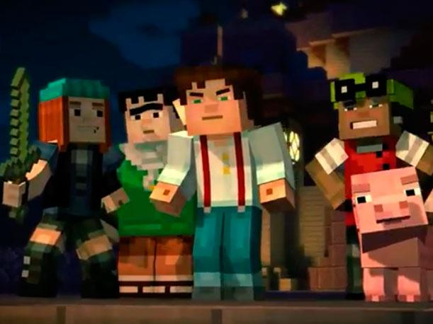 Minecraft Story Mode se muestra en trailer (VIDEO)