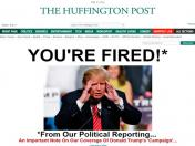 Donald Trump: The Huffington Post ridiculiza campaña del magnate
