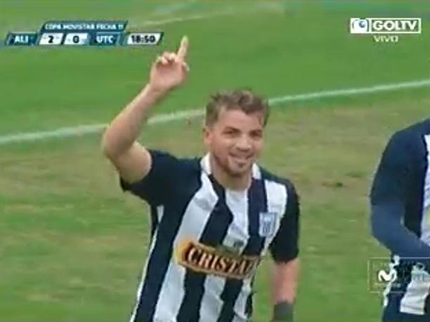 Alianza Lima vs UTC Gabriel Costa aumenta la cuenta (VIDEO)