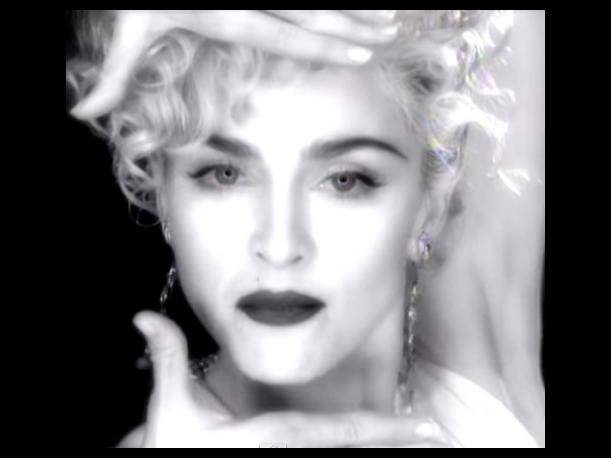 "Madonna Revelan escenas inéditas del video ""Vogue"""