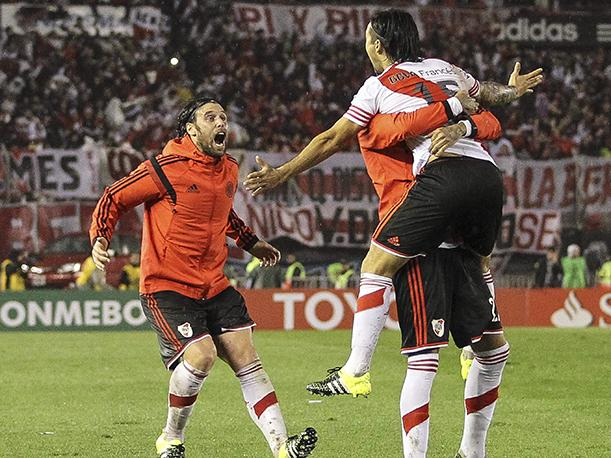 River Plate Su emotiva y explosiva celebración (VIDEO)