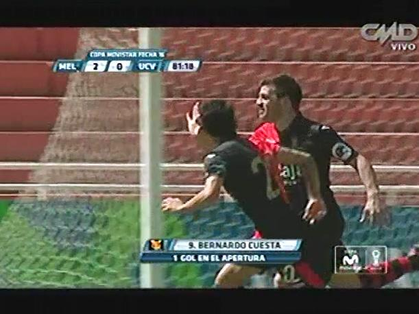 Melgar vs César Vallejo: El gol de Bernardo Cuesta (VIDEO)