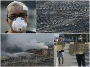 Tianjin looks like a war zone after big explosions