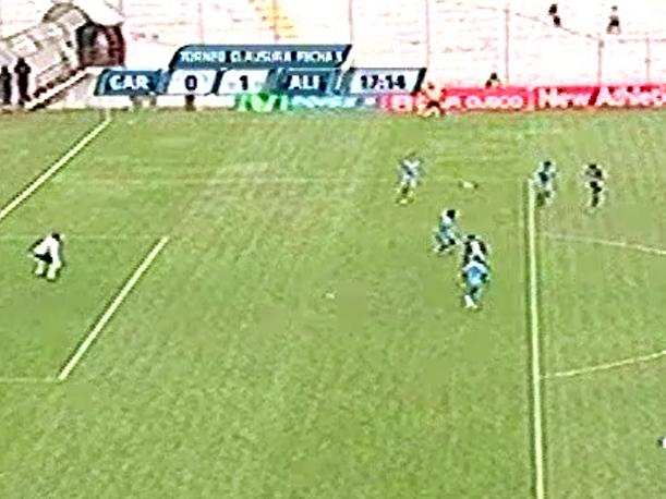 Reimond Manco y su golazo en el Real Garcilaso-Alianza Lima (VIDEO)