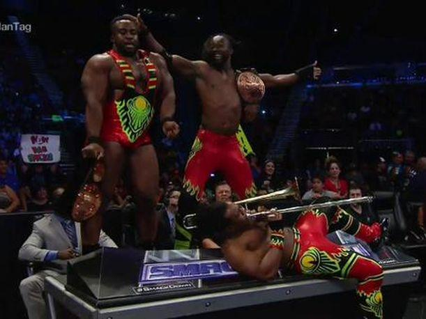 WWE SmackDown The New Day ganó gracias a Xavier Woods