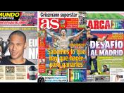 PSG vs Real Madrid en portadas internacionales (FOTOS)