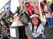 Sofia Mulanovich sube al podio en el Maui and Sons Women's Pro