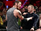 WWE Monday Night Raw: Wayne Rooney golpeó a King Barrett (VIDEO)