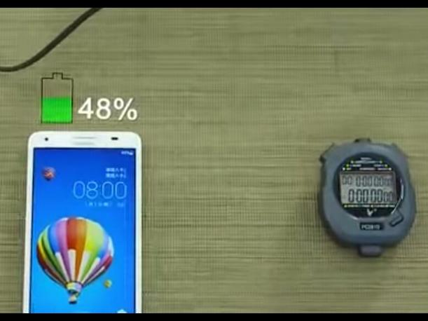 Huawei: ¿Una batería que carga 50 % en 5 minutos? (VIDEO)