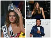 Miss Universo: Artistas colombianos apoyan a Miss Colombia