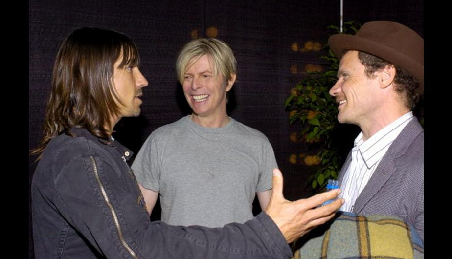 David Bowie rechazó a Coldplay y Red Hot Chili Peppers