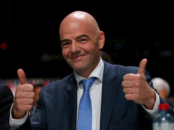 ¿Cuánto mide Gianni Infantino? - Real height Gianni-infantino