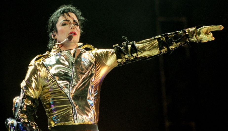 Michael Jackson en su 'History World Tour' en 1996