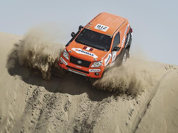Raúl Orlandini en el Top Ten del Mundial de Rallies Cross Country
