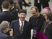 The Edge: guitarrista de U2 tocó para el papa Francisco