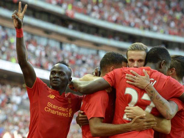 Liverpool goleó al Barcelona por la International Champions Cup