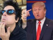 Green Day: Billie Joe Armstrong compara a Donald Trump con Hitler