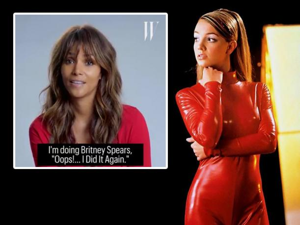 Halle Berry parodió exitosa canción de Britney Spears y video es viral en Facebook