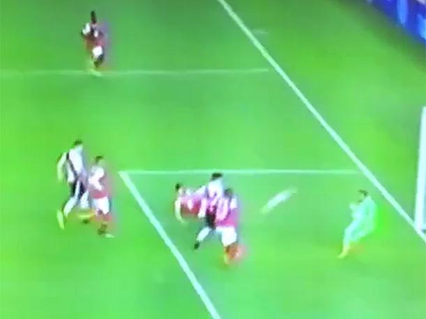 Sebastián Driussi pone el 1-0 de River Plate ante Santa Fe. (Video: FOX Sports)