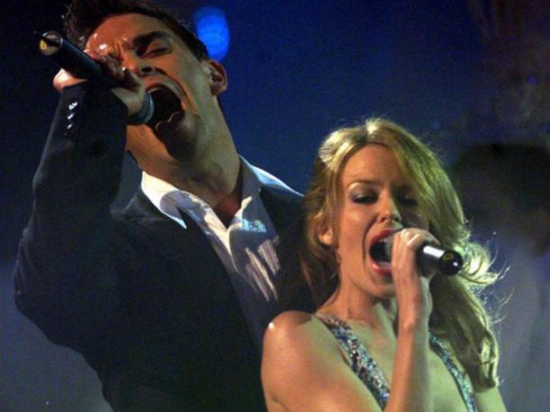 Kylie Minogue prepara nuevo tema con Robbie Williams