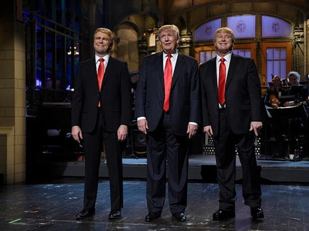 Donald Trump gustaba de Saturday Night Live, pero ahora lo detesta