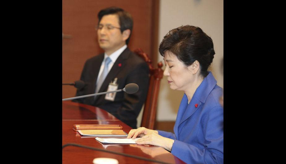 Park Geun-hye faces difficult times in Korea. (Source: EFE)