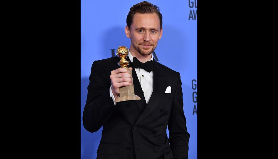Tom Hiddleston triunfó en los Globos de Oro 2017. (Foto: Getty Images)
