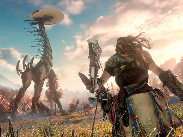 PlayStation 4: Horizon Zero Dawn presenta su tráiler cinemático