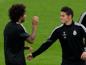 Real Madrid: James Rodríguez y Marcelo dan la noticia del día