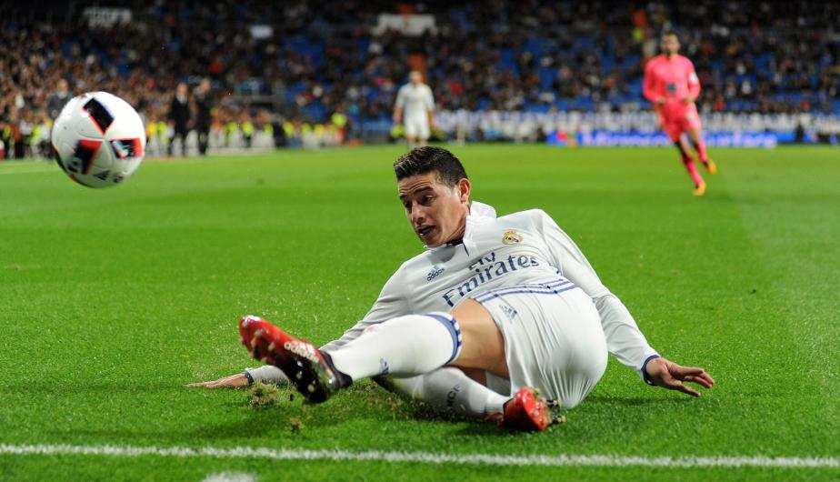 James Rodríguez – Centrocampista del Real Madrid. (Foto: Getty Images)