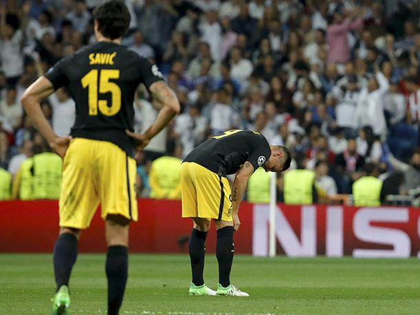 Atlético Madrid y su vergonzosa estadística ante Real Madrid en partido de Champions League